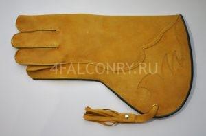 Коричневая перчатка для сипухи